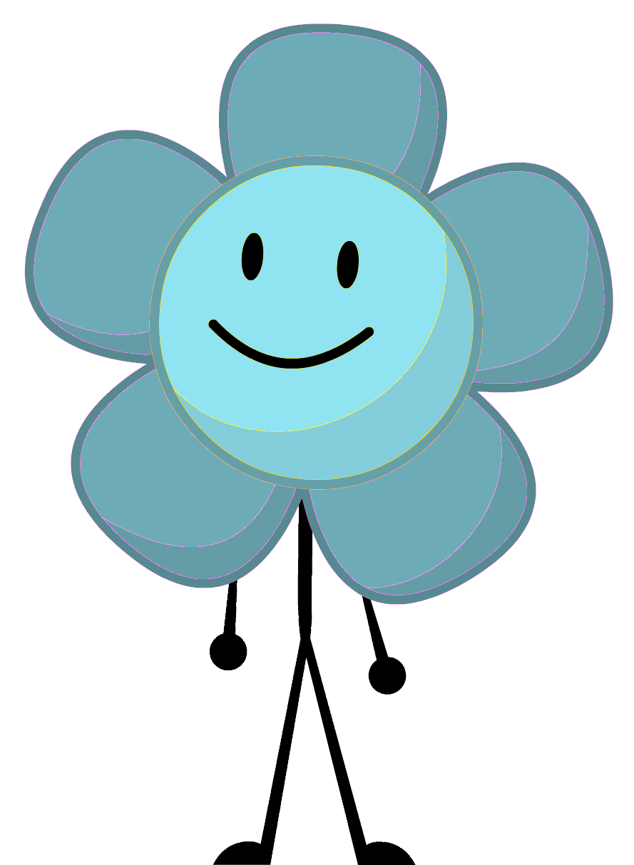 Image snow flower pose. Excited clipart fortunate