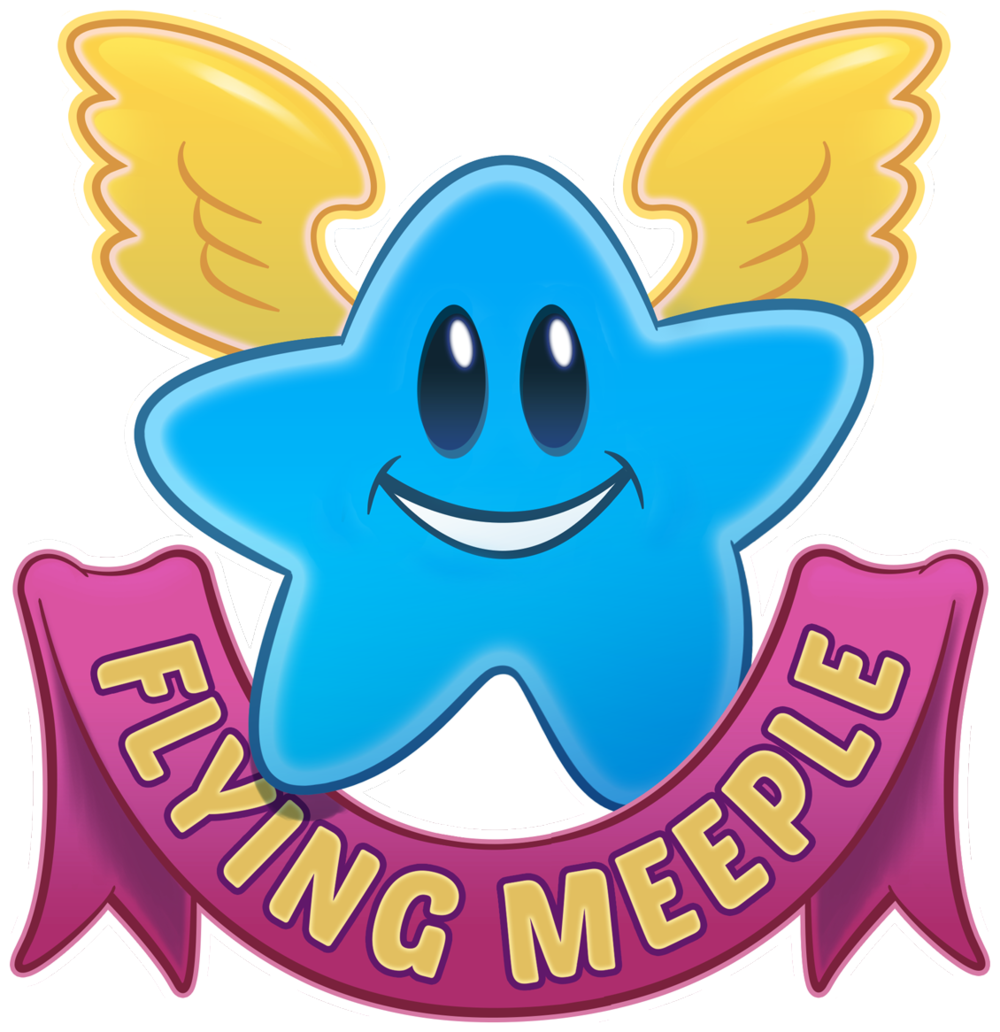 Excited clipart fun game. Salute tabletop games flyingmeeplelogoclippng