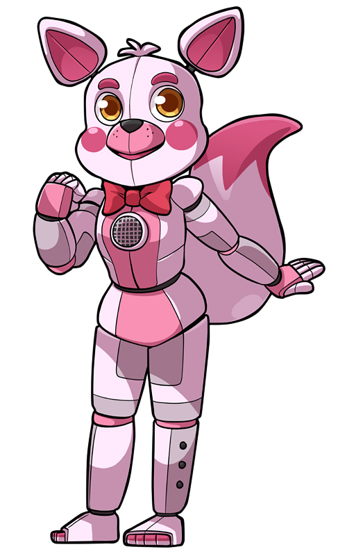 Excited clipart fun time. Chibi funtime foxy by