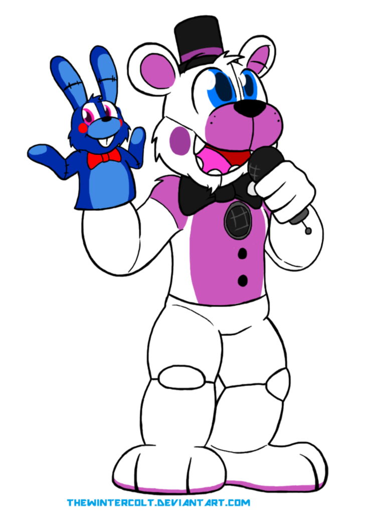 Funtime freddy by thewintercolt. Excited clipart fun time