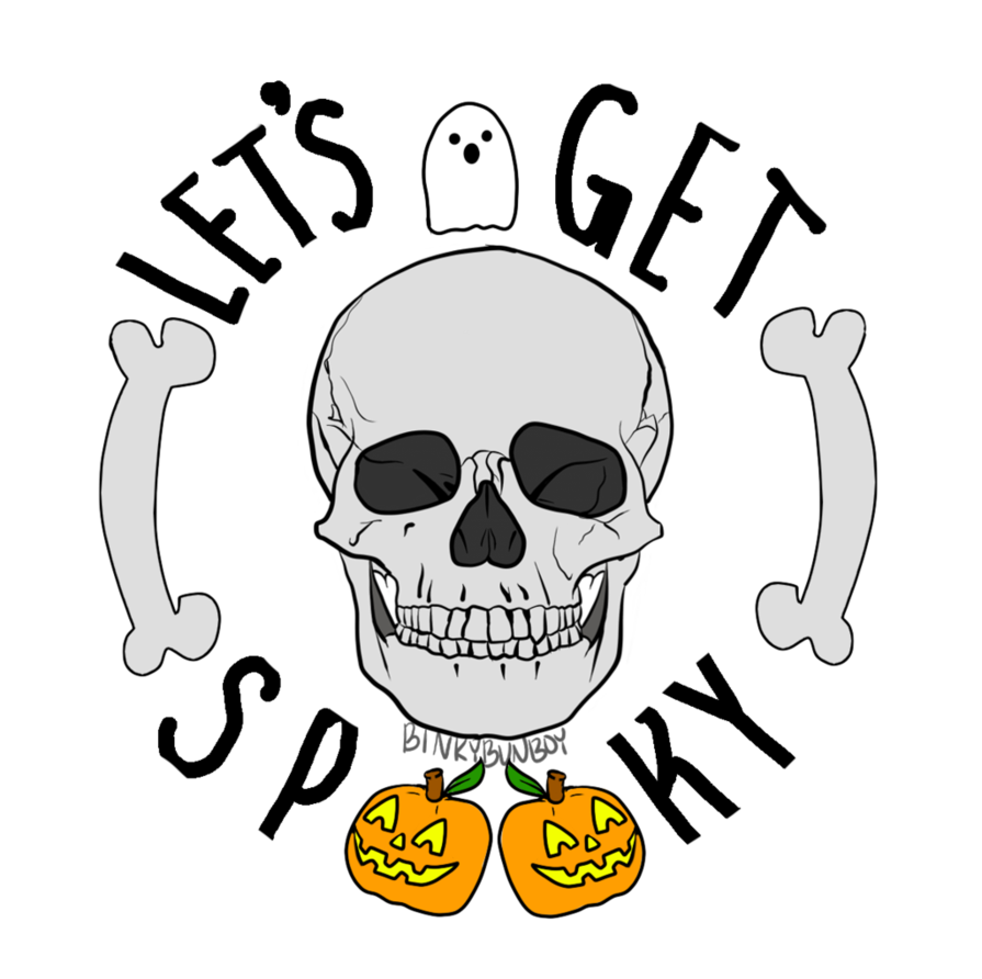 Excited clipart let's get. Let s spooky by