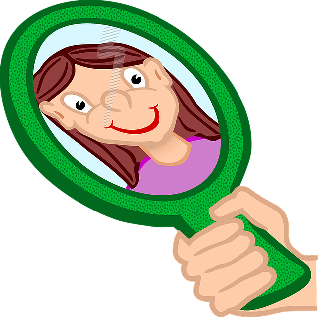 The magic why do. Excited clipart mirror