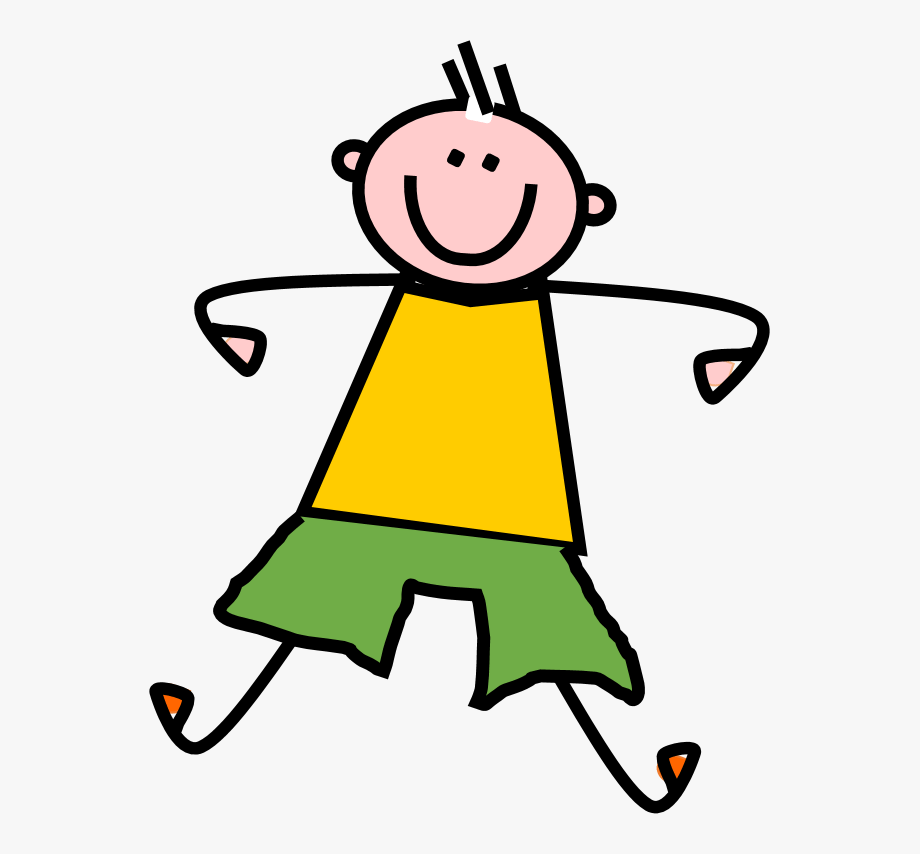 Excited clipart pleased. Happy boy clip art