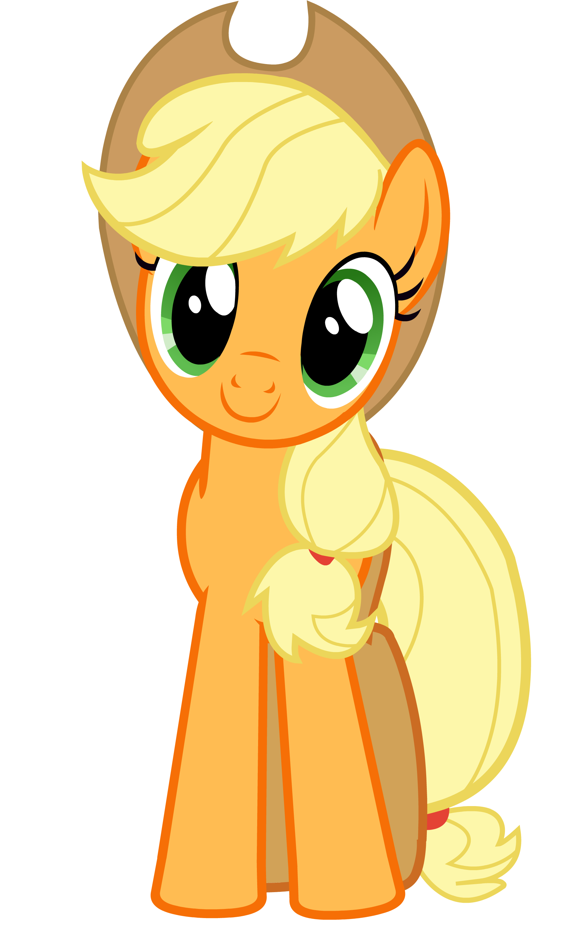 Excited clipart satisfied. Mlp happy applejack the