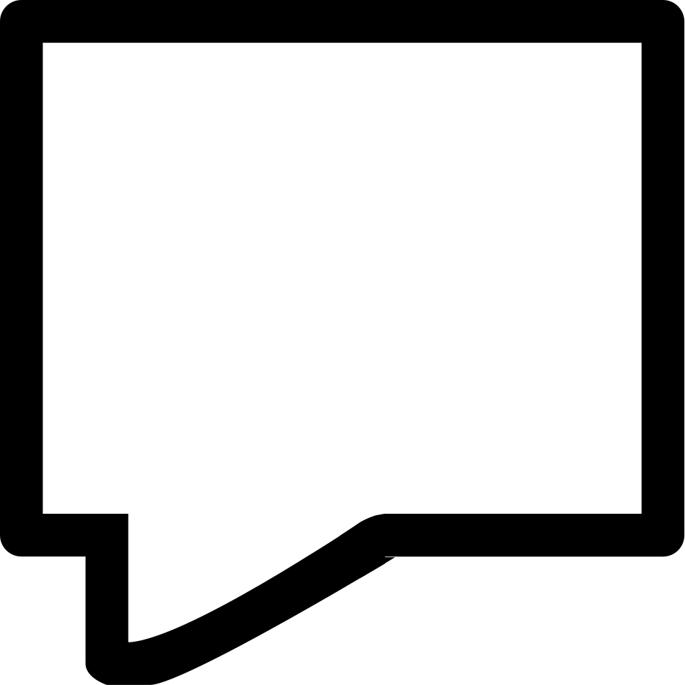 Chat outline of straight. Excited clipart speech bubble