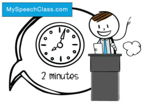 Good minute speech topics. Young clipart student talk