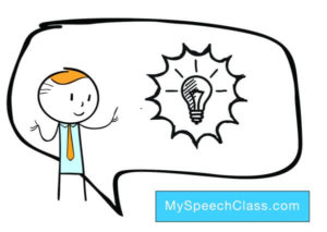 interesting topics examples. Excited clipart speech delivery