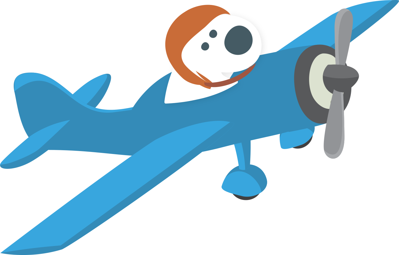 Careers fetchy airplane cloud. Excited clipart success team