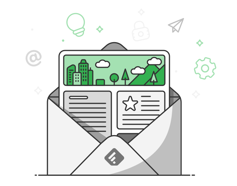 Introducing newsletters feedly blog. Excited clipart success team
