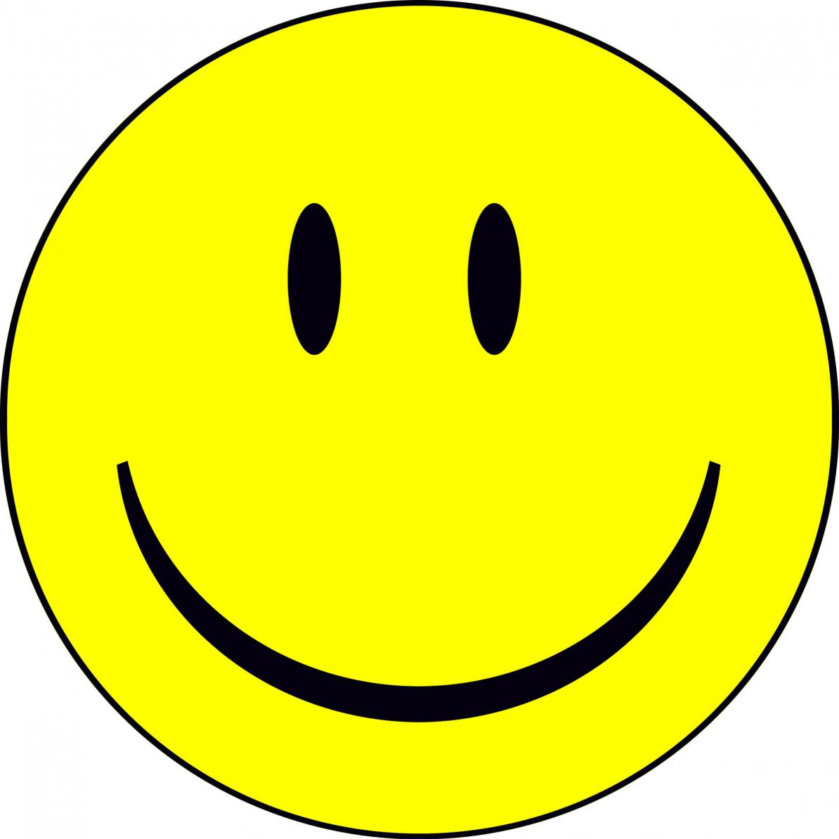 Excited clipart yellow happy face. Smiley n free image