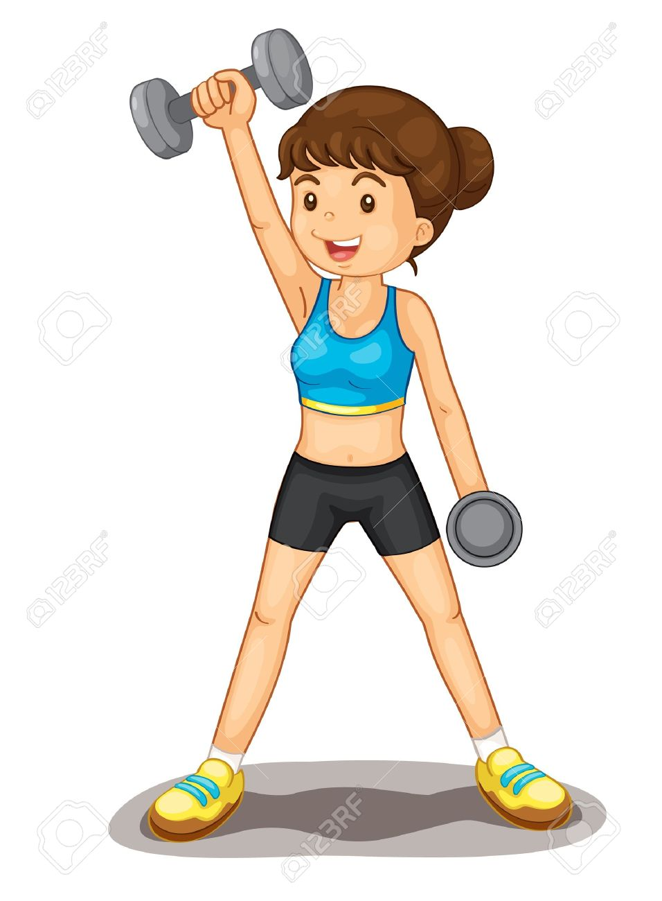 Exercising clipart fitness centre. Exercise panda free images