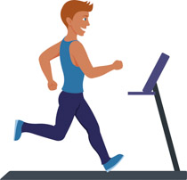 Free fitness and exercise. Exercising clipart excersie