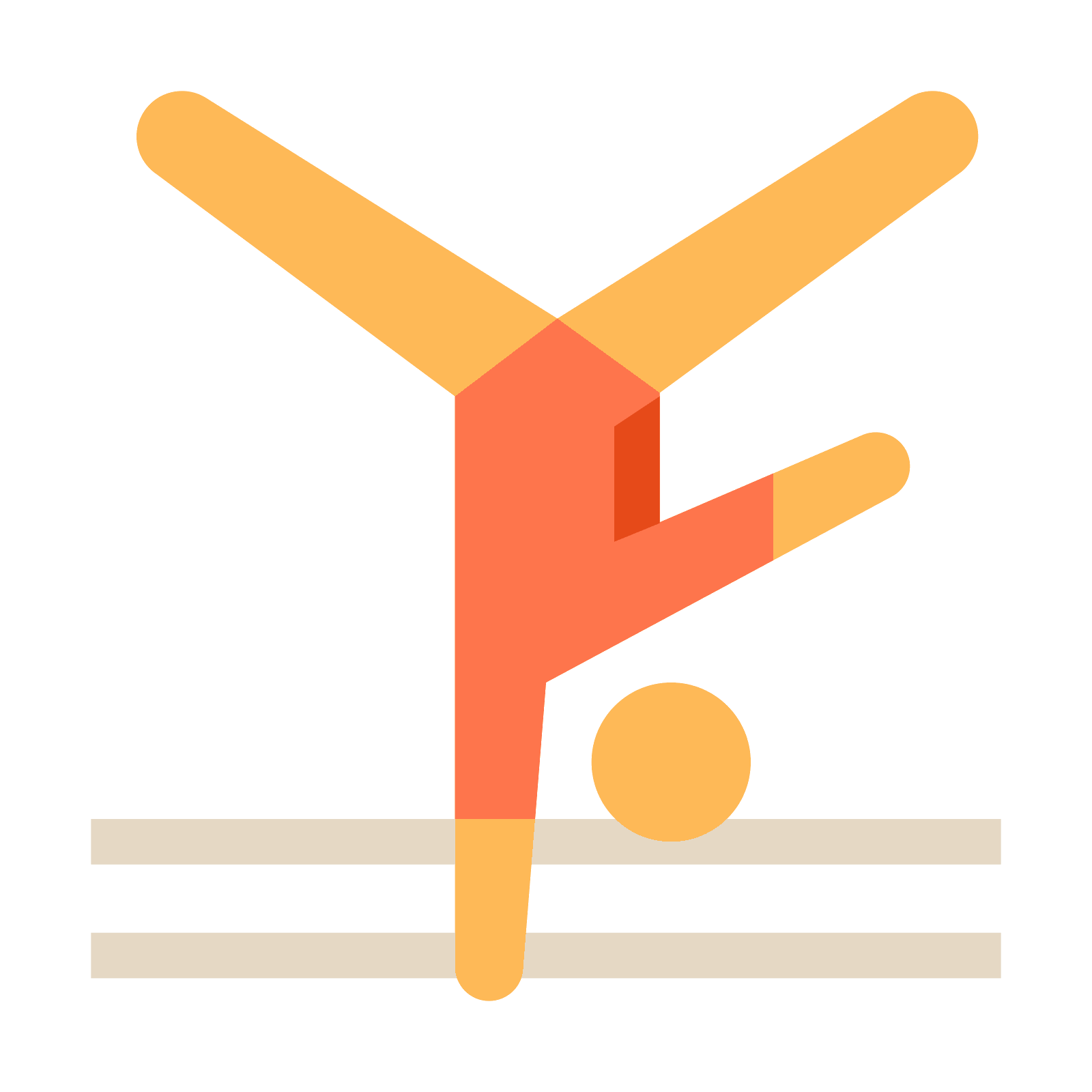 aerobic png icon. Gym clipart flat graphic
