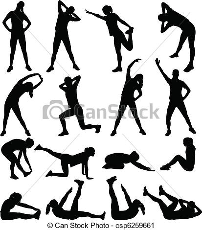 Exercise clipart aerobic. Station