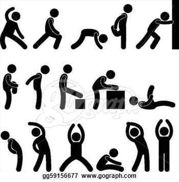Clip art free panda. Exercise clipart basic exercise