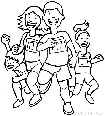 Exercise images free download. Exercising clipart black and white
