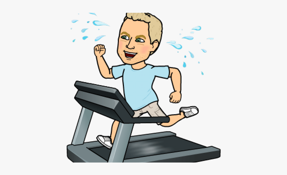 Bench bitmoji working out. Exercise clipart daily exercise