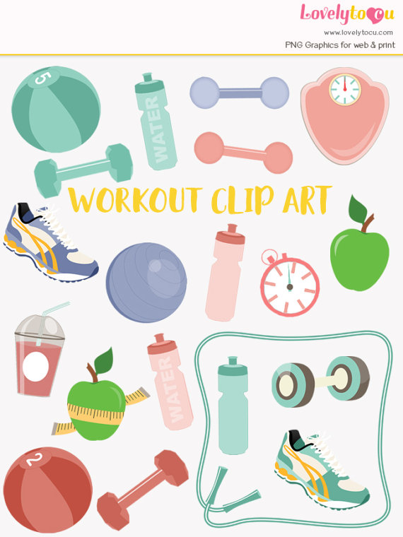 Exercising clipart fitness. Pin on products
