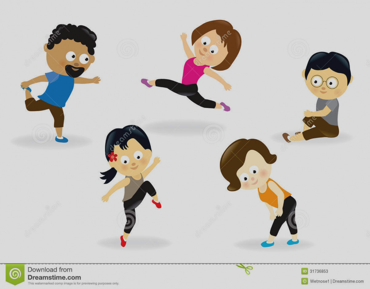 Wonderful of clip art. Exercising clipart group exercise