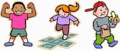 Exercising clipart healthy living. Health tips for children