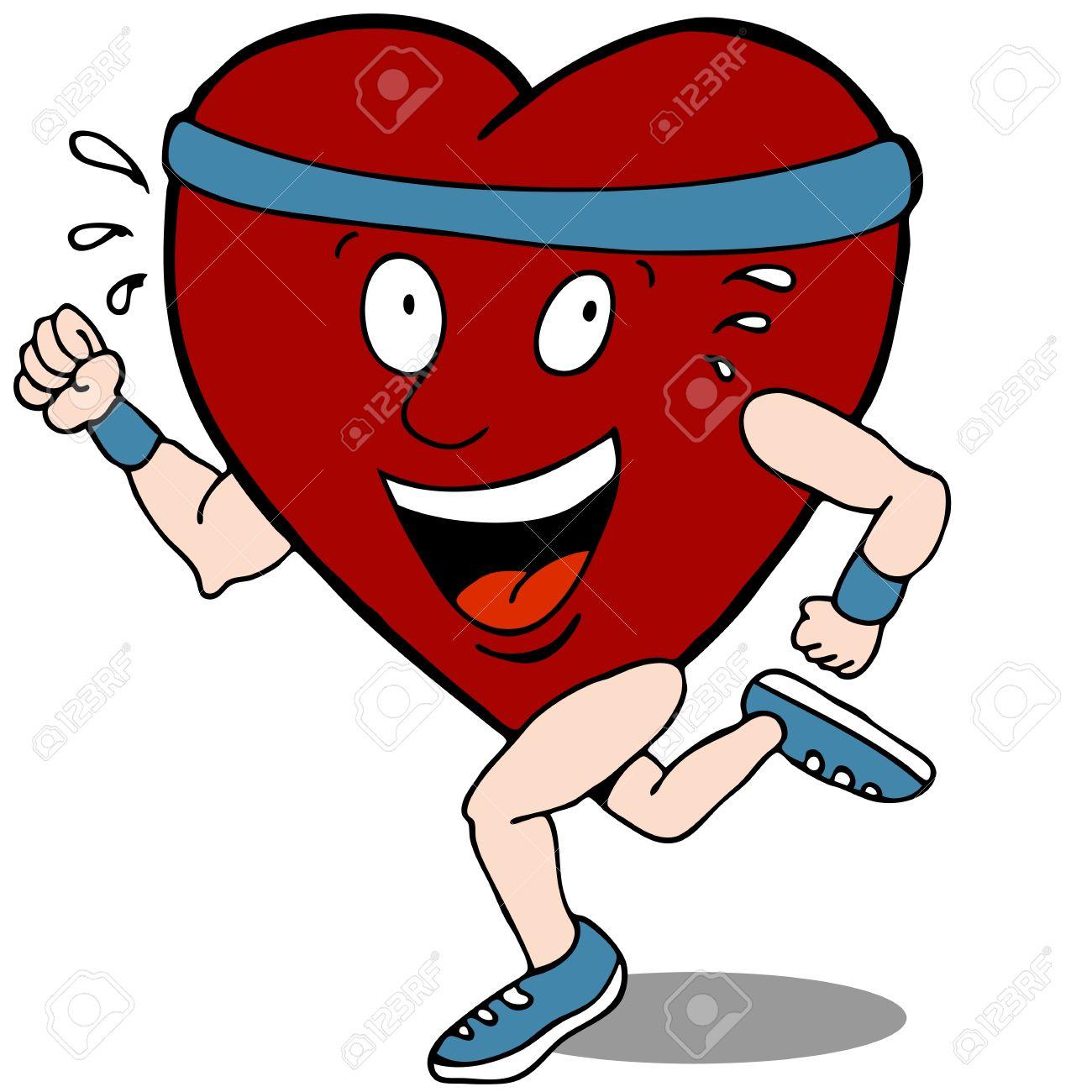 Exercise clipart heart. Healthy panda free