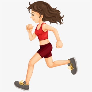 Transparent clip art free. Exercise clipart jogging