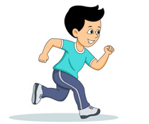 Exercise clipart jogging. Free sports clip art