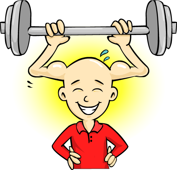 Kids mind power against. Exercise clipart mental exercise