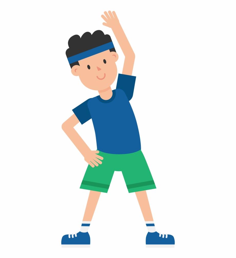 Clip art . Exercising clipart exercise man