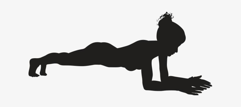Pose kumbhakasana yoga simple. Exercise clipart plank