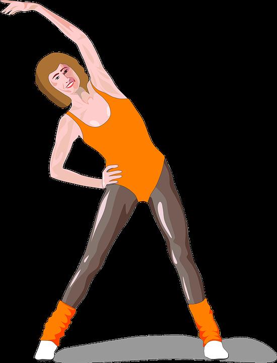 Aerobics transparent free on. Exercise clipart senior exercise