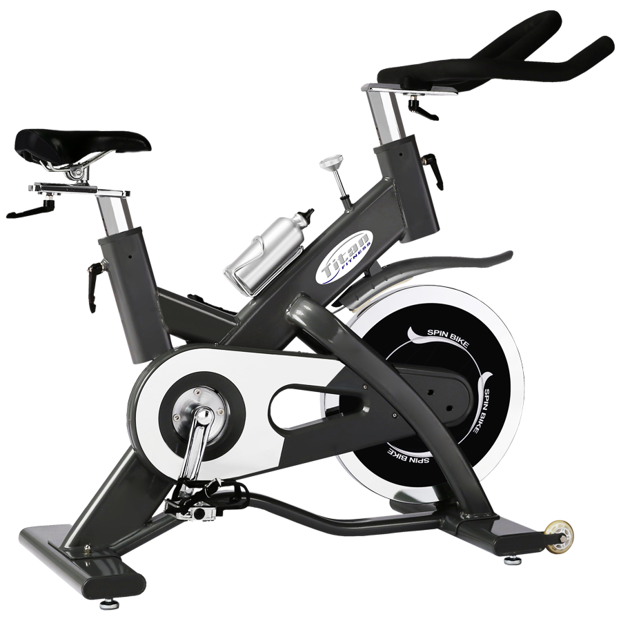 spinning bike titan. Exercising clipart stationary bicycle