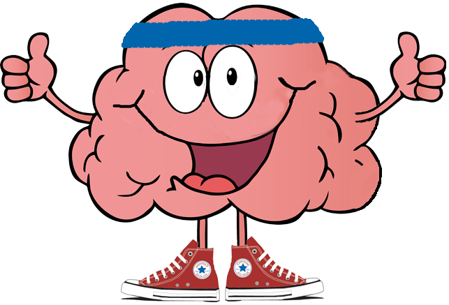 Free brain cliparts download. Exercise clipart strong