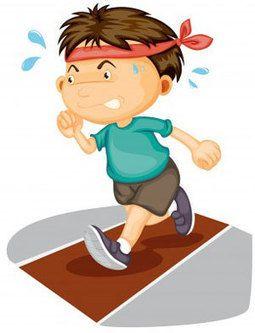 Exercising clipart vigorous. Children require no less