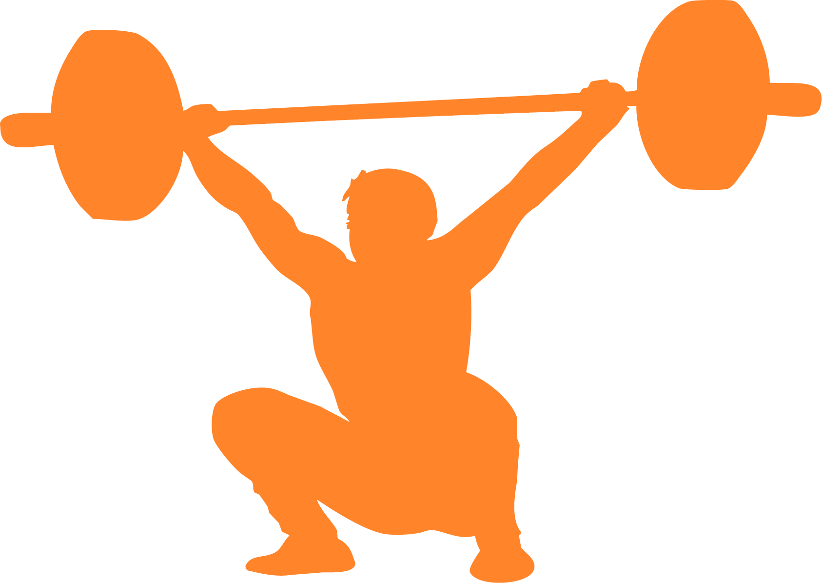 Exercise clipart weightlifting. Olympic crossfit clip art