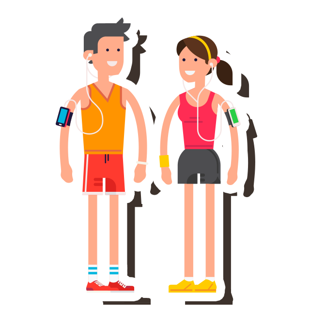 The skout blog workout. Hiking clipart stream