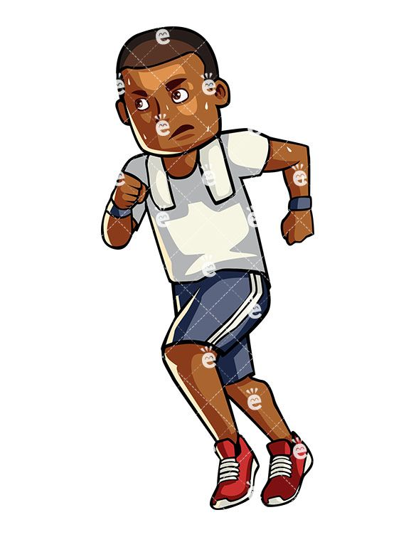 Exercising clipart african american. Pin on working out