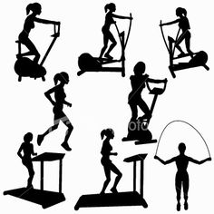 Exercising clipart cardiovascular exercise. Free cliparts download clip