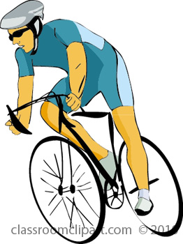 Free fitness and clip. Exercising clipart cycling exercise