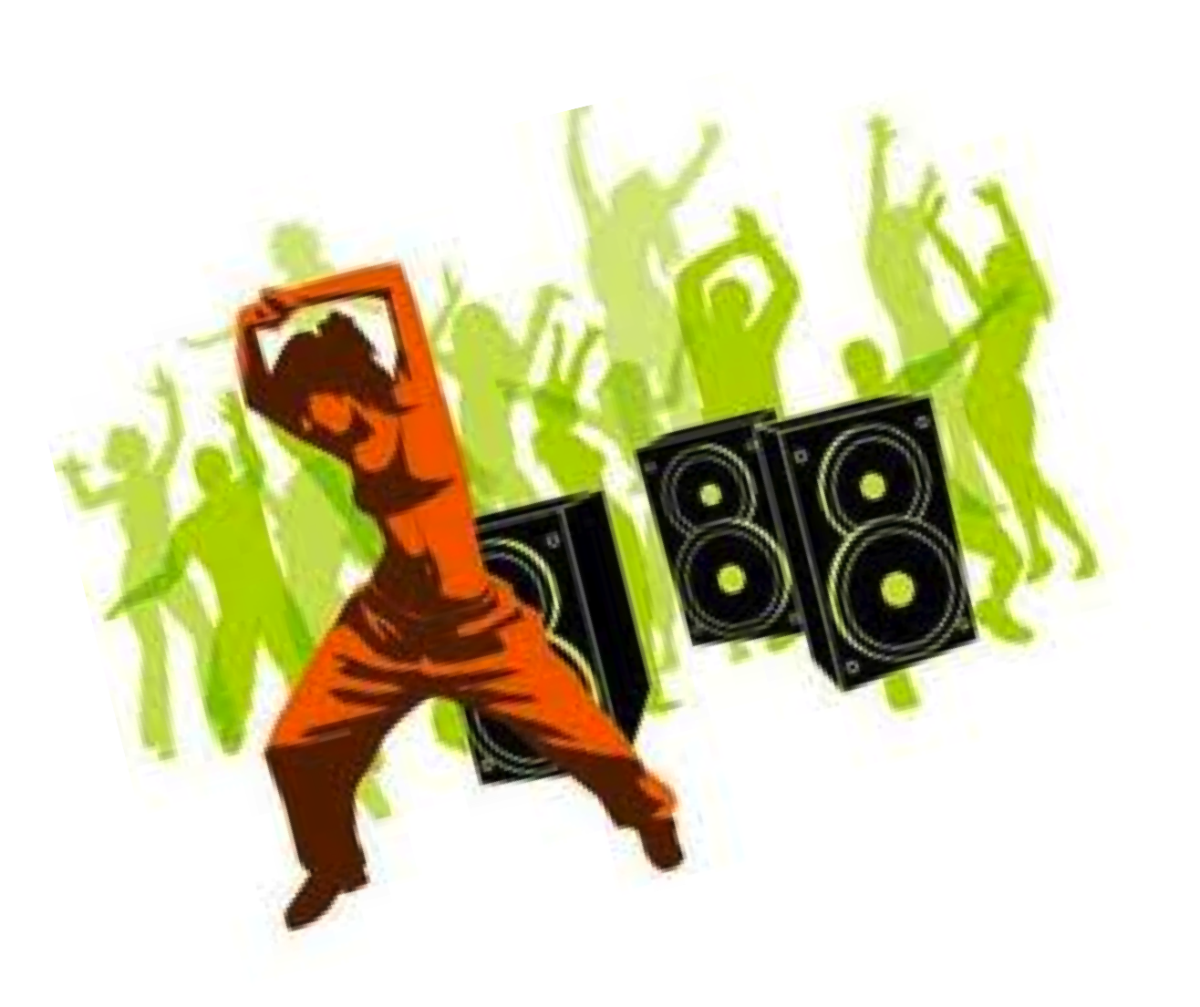 Exercising clipart dance exercise. Zumba physical fitness toning