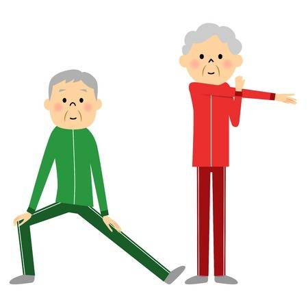 Exercising clipart elderly. Cliparts making the web