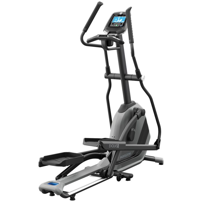 Horizon evolve. Exercising clipart elliptical