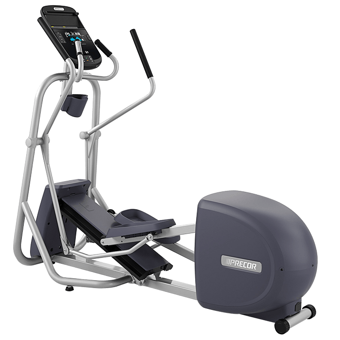 Exercising clipart elliptical. Precor amt with open