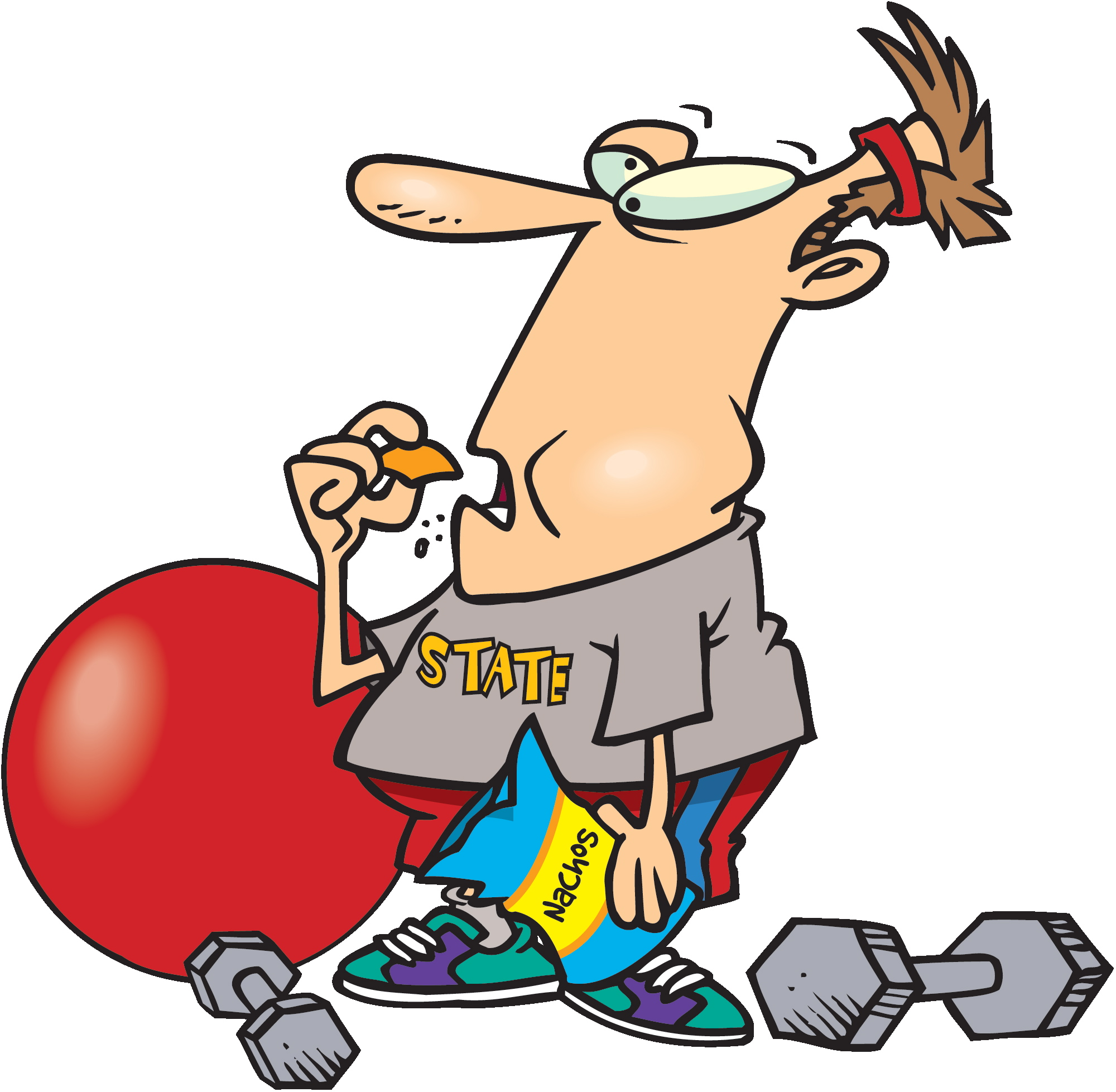 Exercising clipart exercise cartoon. Free funny cliparts download