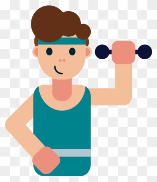 Exercising clipart exercise time. Free png clip art