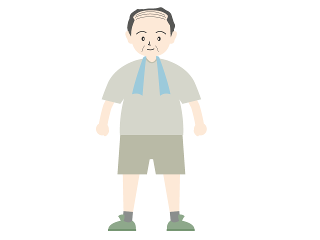 Dad who exercises clip. Exercising clipart family exercise