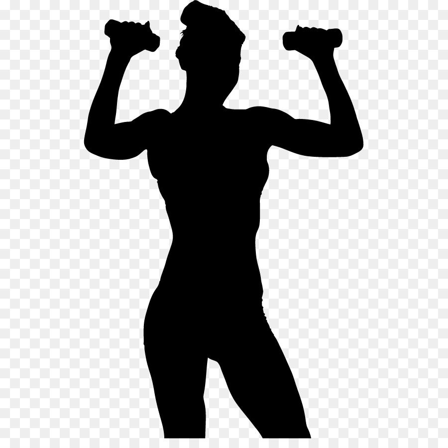 Exercising clipart fit person. Exercise silhouette wellness sa