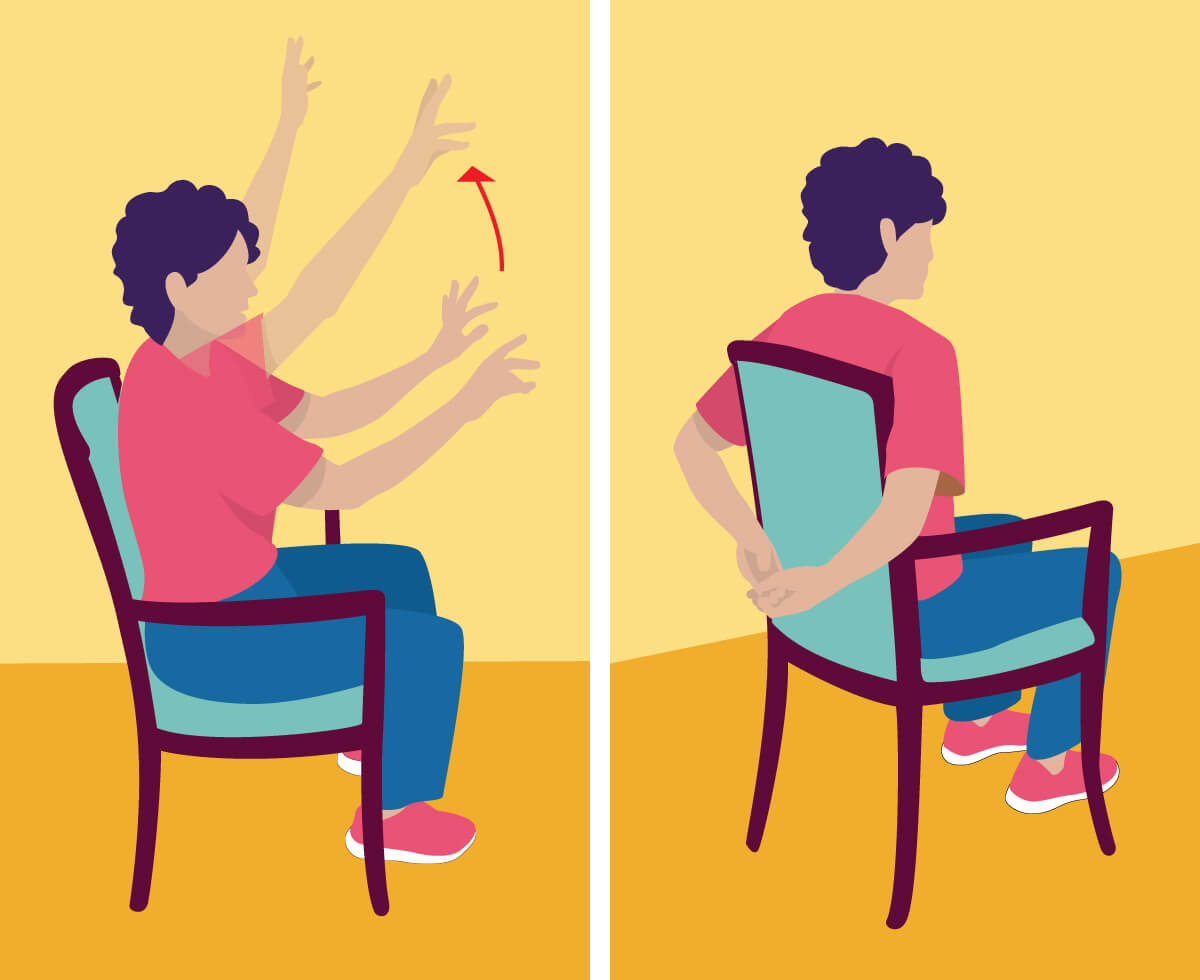 Exercising clipart gentle.  balance exercises for