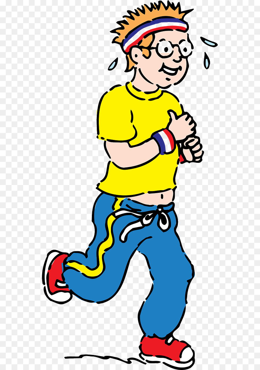 Exercise cartoon png download. Exercising clipart jogging