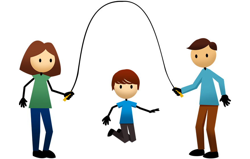 Activities active for life. Exercising clipart jump rope
